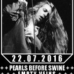 Warrior Soul, 22.07.2016 bei Rare Guitar, Support Pearls Before Swine